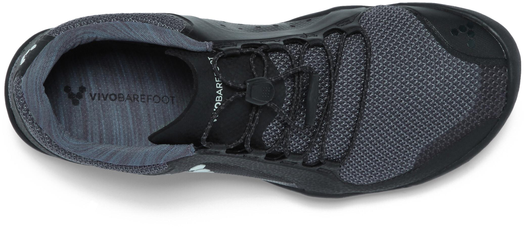 cb918b10ad3960 Vivobarefoot Primus Trail FG Mesh Chaussures running Homme, black/charcoal